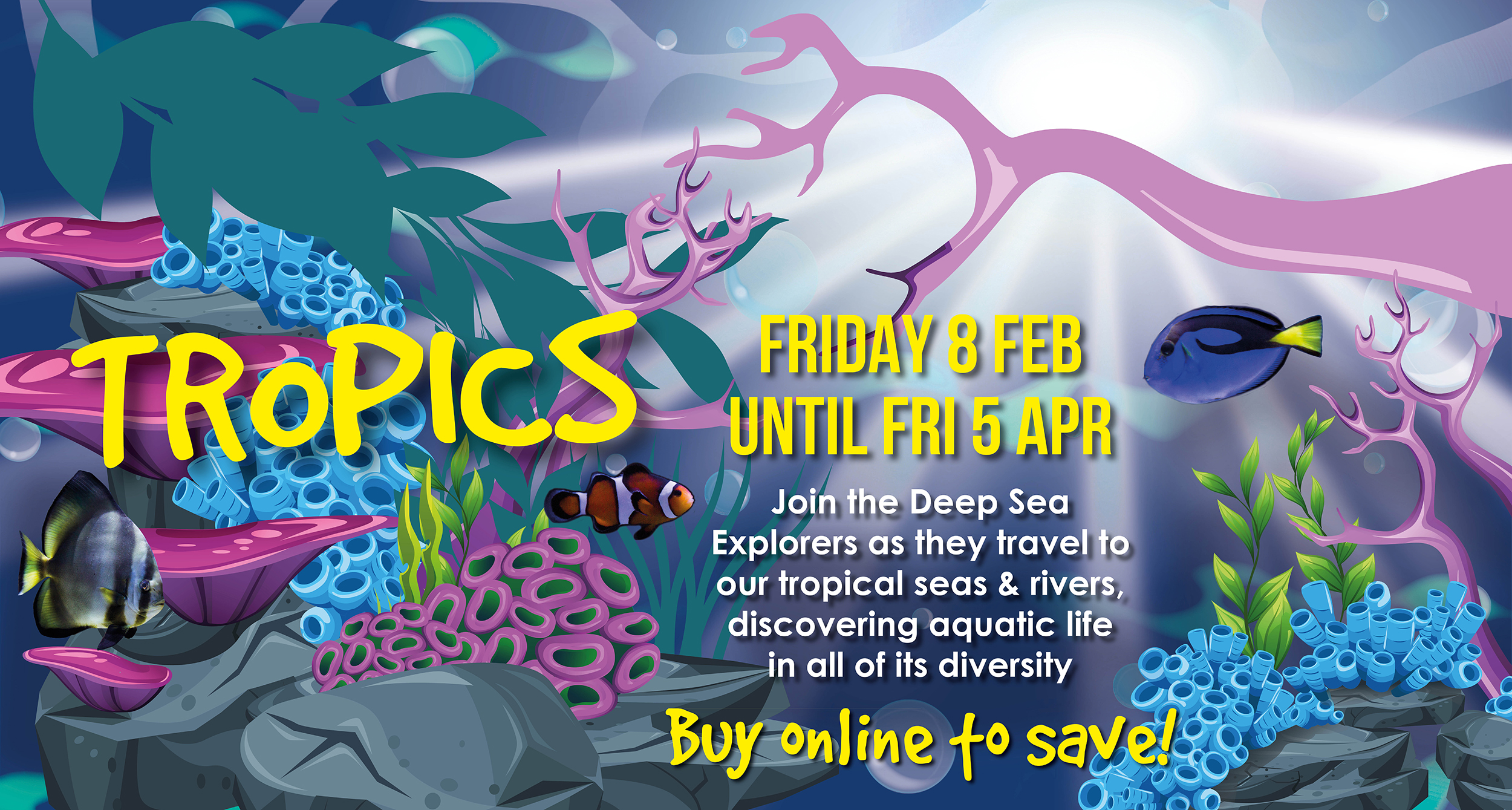 Deep sea world